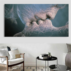 """Passionate"" Wall art in color & black/white"