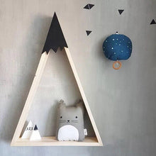 "Load image into Gallery viewer, ""Snowie"" 2PCS/SET Wooden Wall Shelf"
