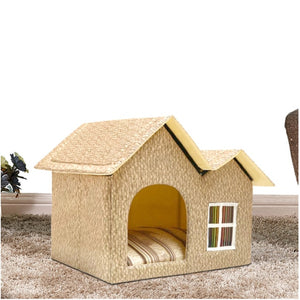 """Retro Home"" Dogs & cats house in 4 variants"