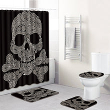 "Load image into Gallery viewer, ""Skull"" Full bathroom cover set"