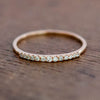 Demi Eternity Ring 18k solid gold