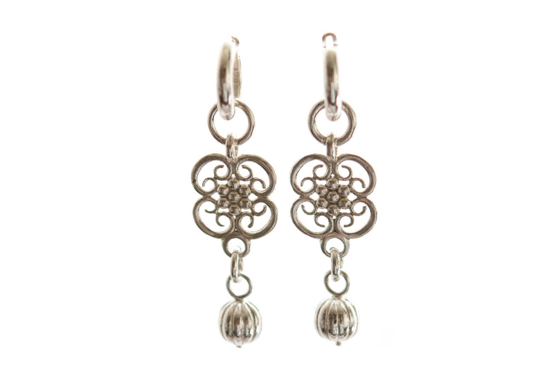 Boleyn dangle earrings - Vivien Frank Designs