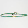 Braided Diamond Friendship Bracelet Green - Vivien Frank Designs