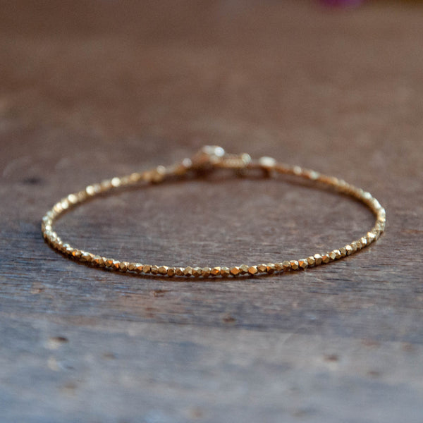 Gold Essential bead bracelet