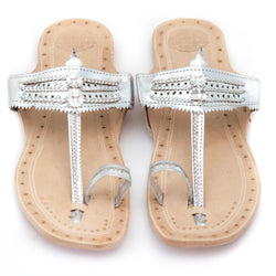 Toe ring sandals - Jesus walkers - Vivien Frank Designs