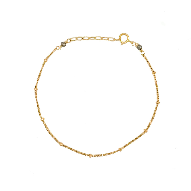 Satellite Bracelet 14k Gold - Vivien Frank Designs