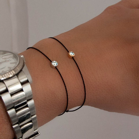 Solo Diamond Bracelet - Small