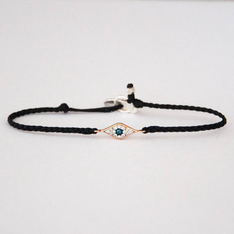 Evil Eye Braided Friendship Bracelet