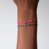 Braided Diamond Friendship Bracelet Adjustable