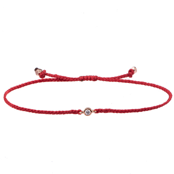 Diamond Friendship bracelets - adjustable - Vivien Frank Designs