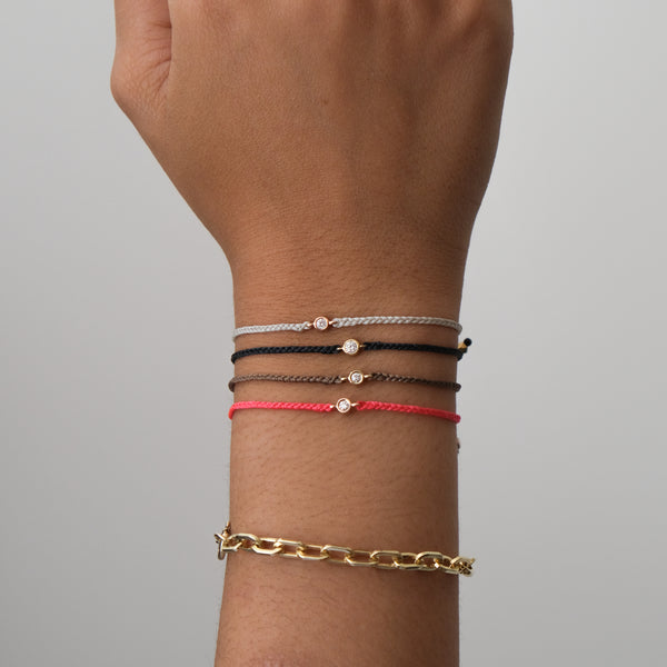 Diamond Friendship bracelets - adjustable