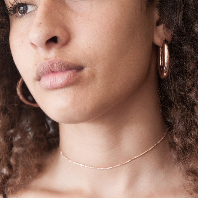 Large Hoop Earrings - Vivien Frank Designs