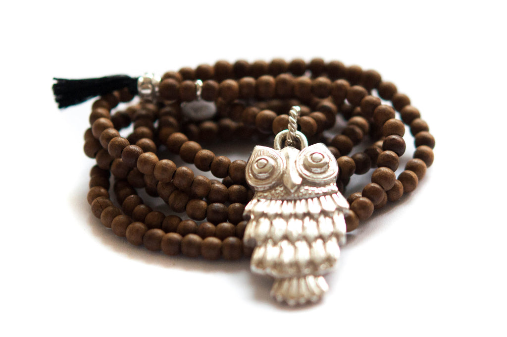 Owl Necklace - Vivien Frank Designs