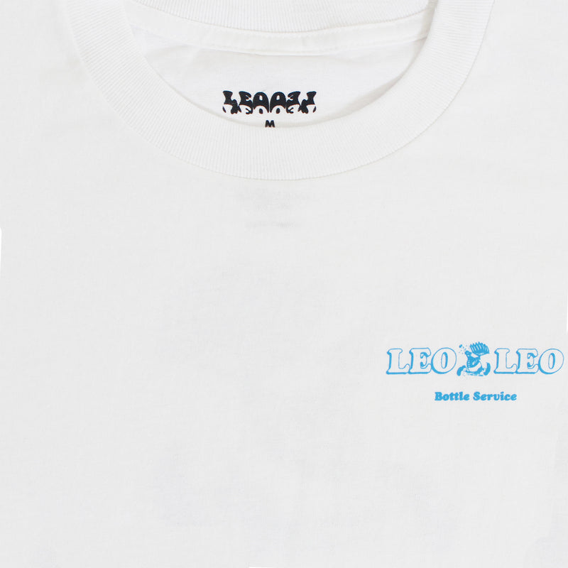 Bottle Service Tee - White