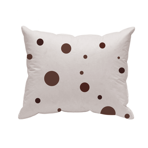 POLKA DOTS IN DIFFERENT SHADES OF BROWN
