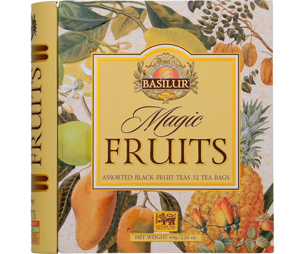Tea Book Magic Fruits Assorted 32 Bolsas