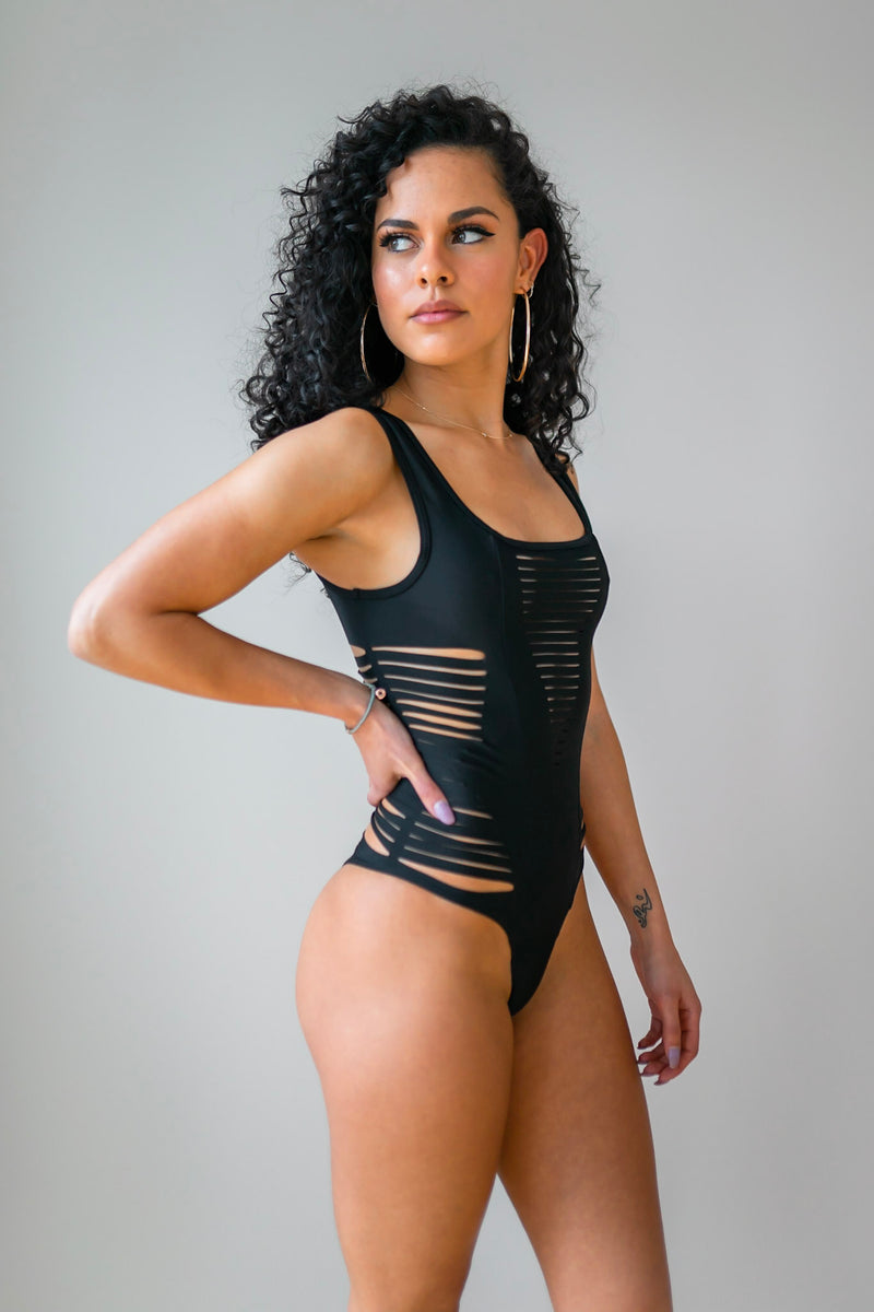 Montego One Piece in Black