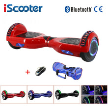 Load image into Gallery viewer, Electric hoverboard 6.5 inch bluetooth Skateboard steering-wheel Smart 2 wheel self Balance Car Standing scooter remote Control
