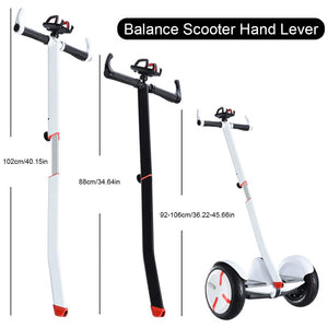 Electric Scooters Accessories Skateboard Extend Rod Self Balancing Scooter Handle Armrest Extension Rod Handlebar Parts