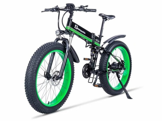 Electric bicycle 1000W Electric Beach Bike 4.0 Fat Tire Electric Bike  48V Mens Mountain Bike Snow ebike 26inch Bicycle