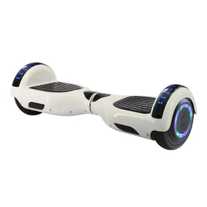 Electric hoverboard 6.5 inch bluetooth Skateboard steering-wheel Smart 2 wheel self Balance Car Standing scooter remote Control
