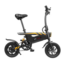 Load image into Gallery viewer, Portable Electric Scooter Folding 2 Wheels Electric Bicycle 12 Inch 250W 36V Max 25KM/H Adults Black Electric Bike Bicycle