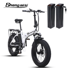 Load image into Gallery viewer, Ebike Electric bike 500W electric fat bike beach bike cruiser electric bicycle 48v15ah lithium battery  electric mountain bike