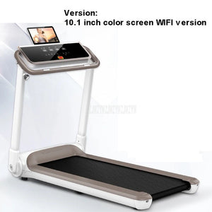 0.8-14KM/H Household Intelligent Foldable Mini Treadmill Ultra-silent Indoor Mute Running Family Fitness Training Equipment 588W