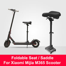 Load image into Gallery viewer, Original Xiaomi M365 Scooter Seat Foldable Saddle Electric Scooter Chair Height Adjustable Seat for Xiaomi Mijia M365 Scooter