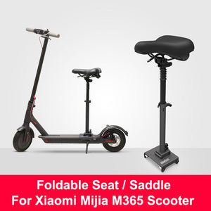 Original Xiaomi M365 Scooter Seat Foldable Saddle Electric Scooter Chair Height Adjustable Seat for Xiaomi Mijia M365 Scooter