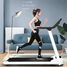 Load image into Gallery viewer, Folding Motorized Treadmill Portable Electric Treadmill Household Gym Treadmill Running Machine with LED Display Safe Bar