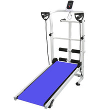 Load image into Gallery viewer, 2020 Home Fitness Treadmill Folding Mechanical Treadmill 3 in 1 Multifunction Silent Steppers Fitness Equipments Accessories HWC