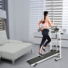 Load image into Gallery viewer, In Stock Mechanical Treadmill Mini Folding Running Training Fitness Treadmill Multi-function Fitness Equipment Treadmill HWC