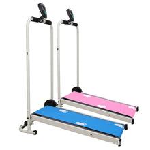 Load image into Gallery viewer, Mechanical Foldable Walking Machine Household Treadmill Mini Fitness Equipment for Boys and Girls