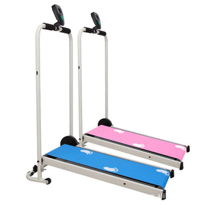 Mechanical Foldable Walking Machine Household Treadmill Mini Fitness Equipment for Boys and Girls