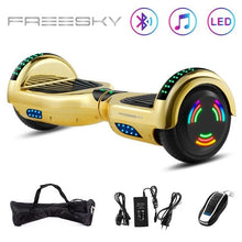 Load image into Gallery viewer, 6.5  Hoverboard E-Scooter Smart  E-board Bluetooth & Bag & Motor Light  Chorme Surface Self Balancing Scooter  Electric Scooter