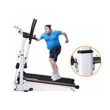 Load image into Gallery viewer, New mechanical treadmills  exercise equipment for home indoor walking machine mini treadmill folding without electricity 1pc