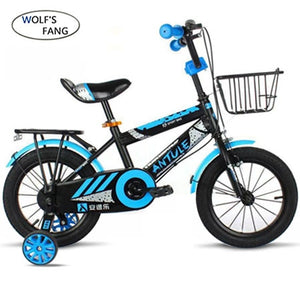 Wolf's fang Child's Bike Cycling Kid's Bicycle With Safety Protective Steel 14/16/18 inch Children Bikes boy Free shipping