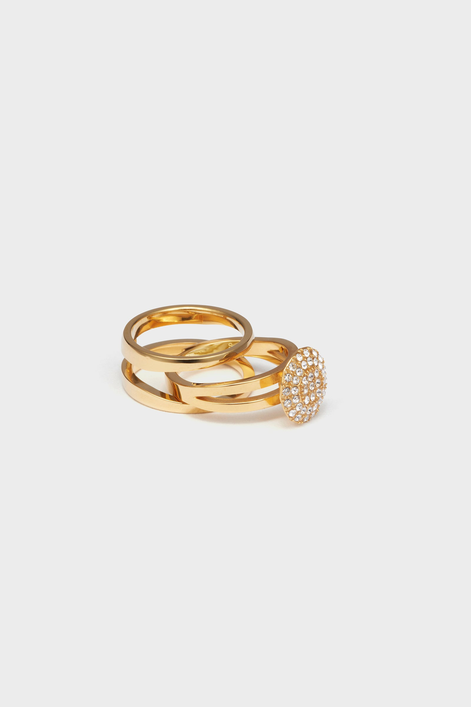 ANVORHANDEN STONE DETACHABLE RING (GOLD)