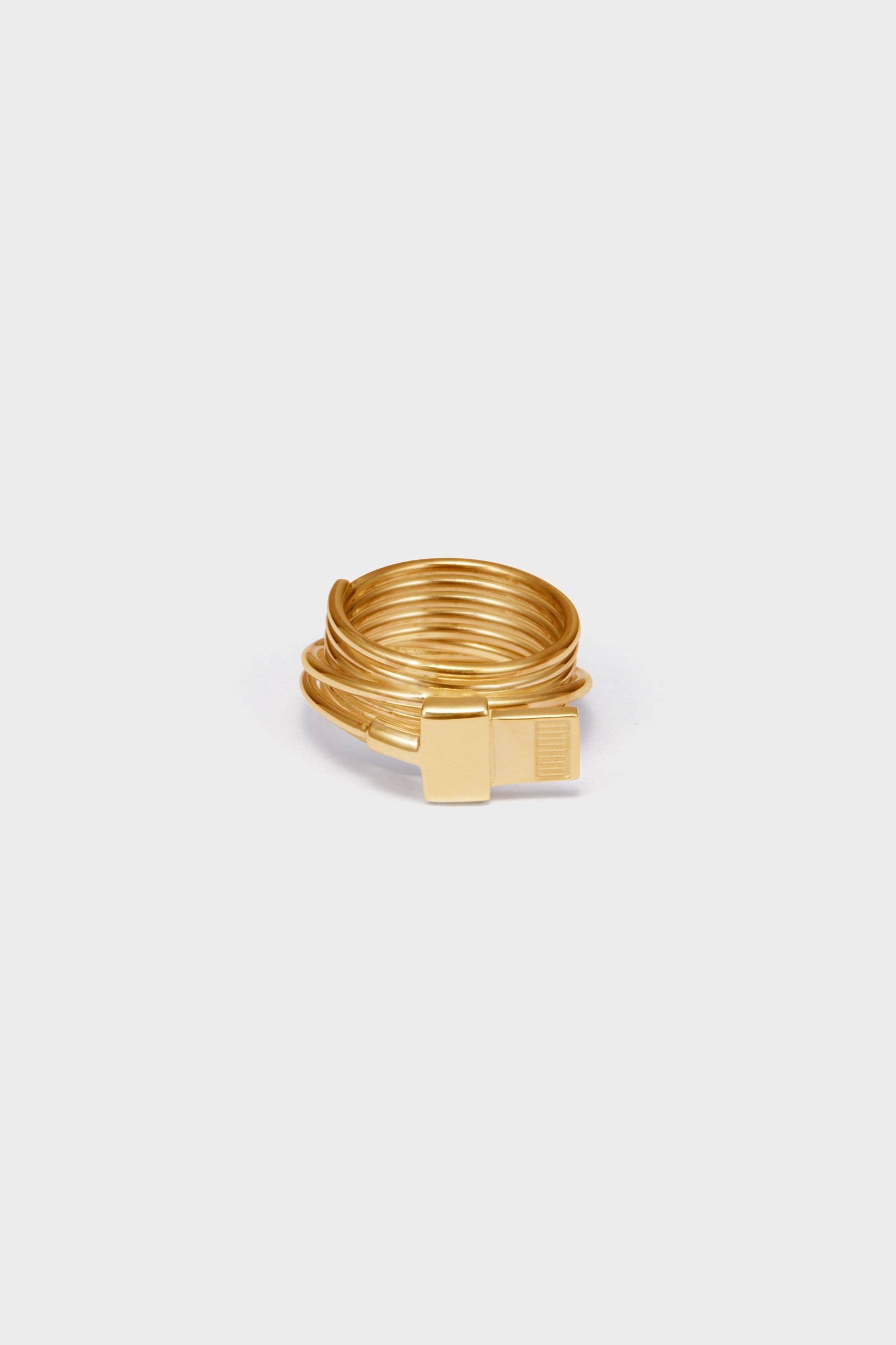 ANVORHANDEN LIGHTNING RING (GOLD)
