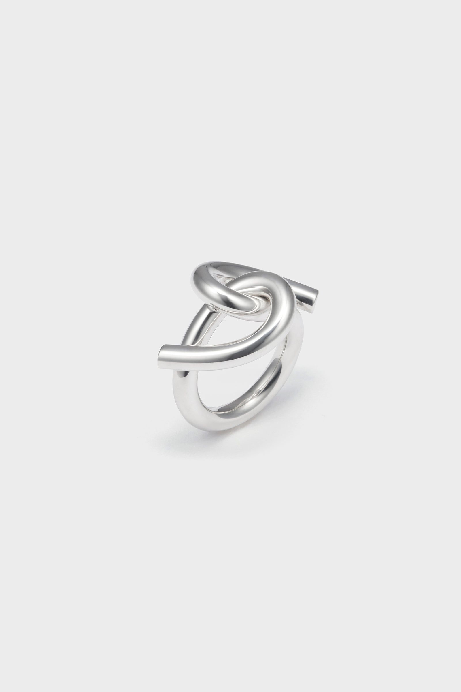 ANVORHANDEN TORSION RING (SILVER)