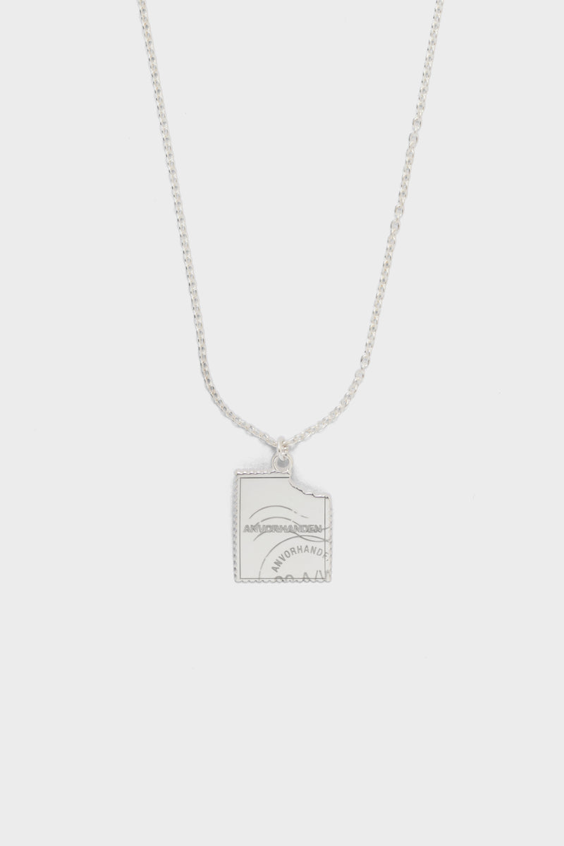 STAMP NECKLACE (SILVER)