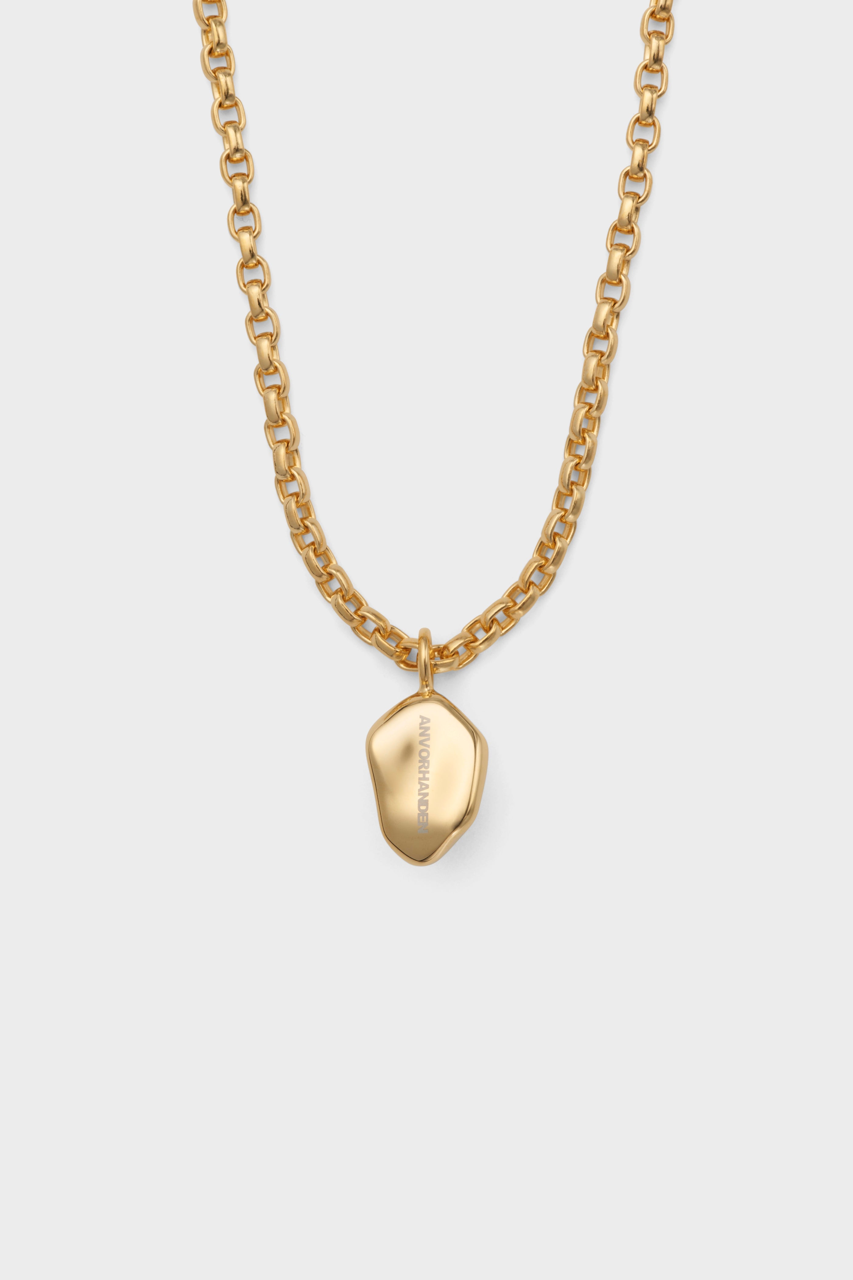 ANVORHANDEN STONE NECKLACE (GOLD)