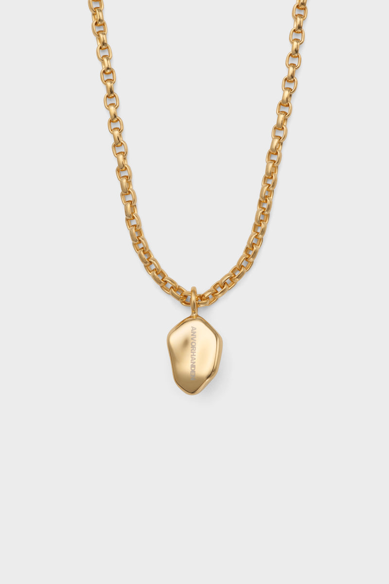 STONE NECKLACE (GOLD)