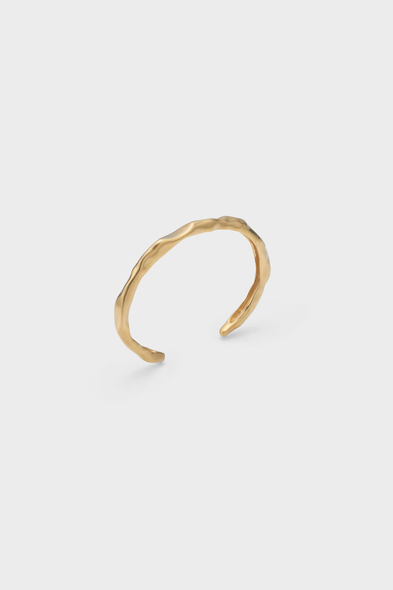 DISTORTION BANGLE (GOLD)