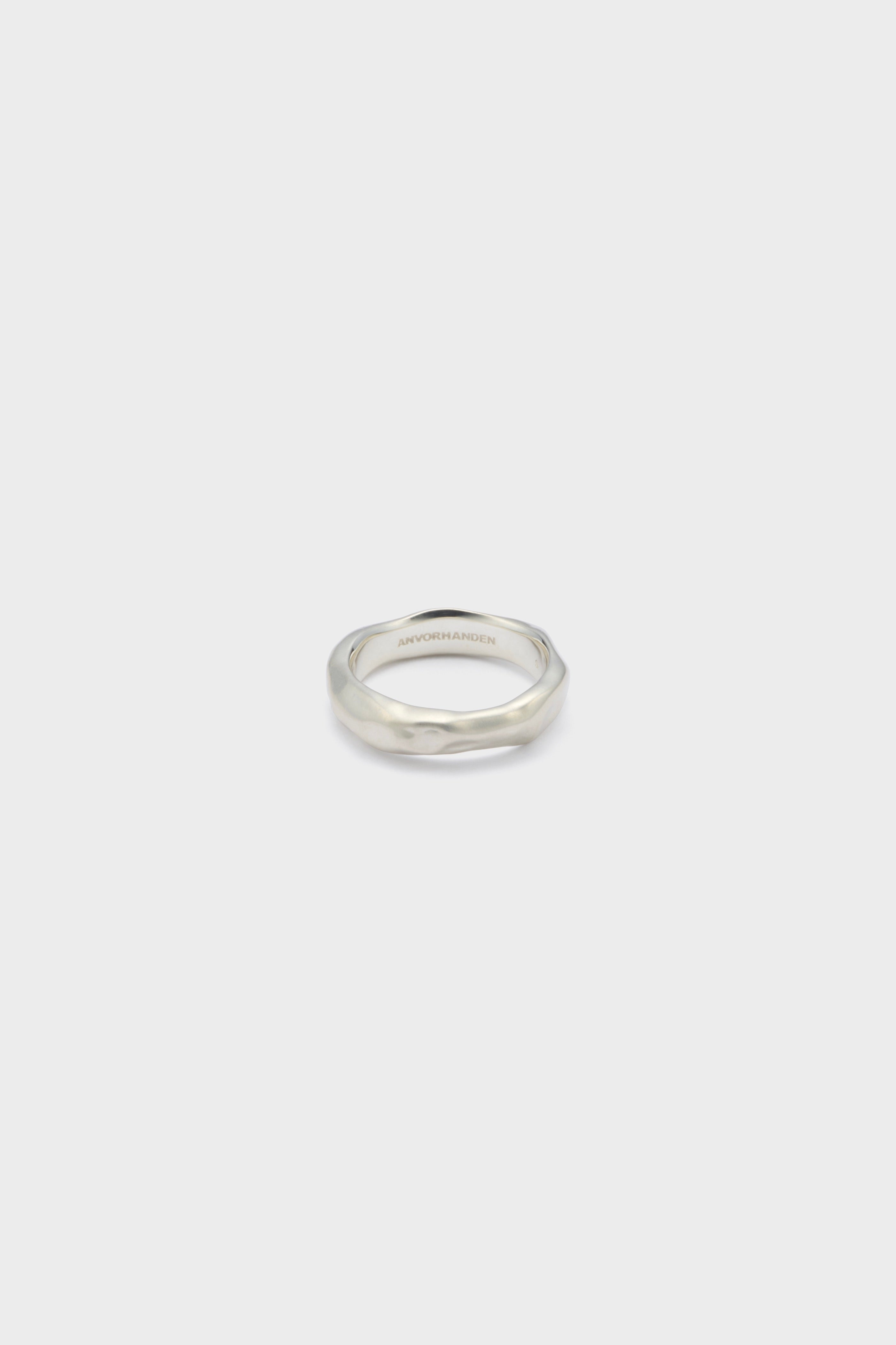 DISTORTION RING (SILVER)