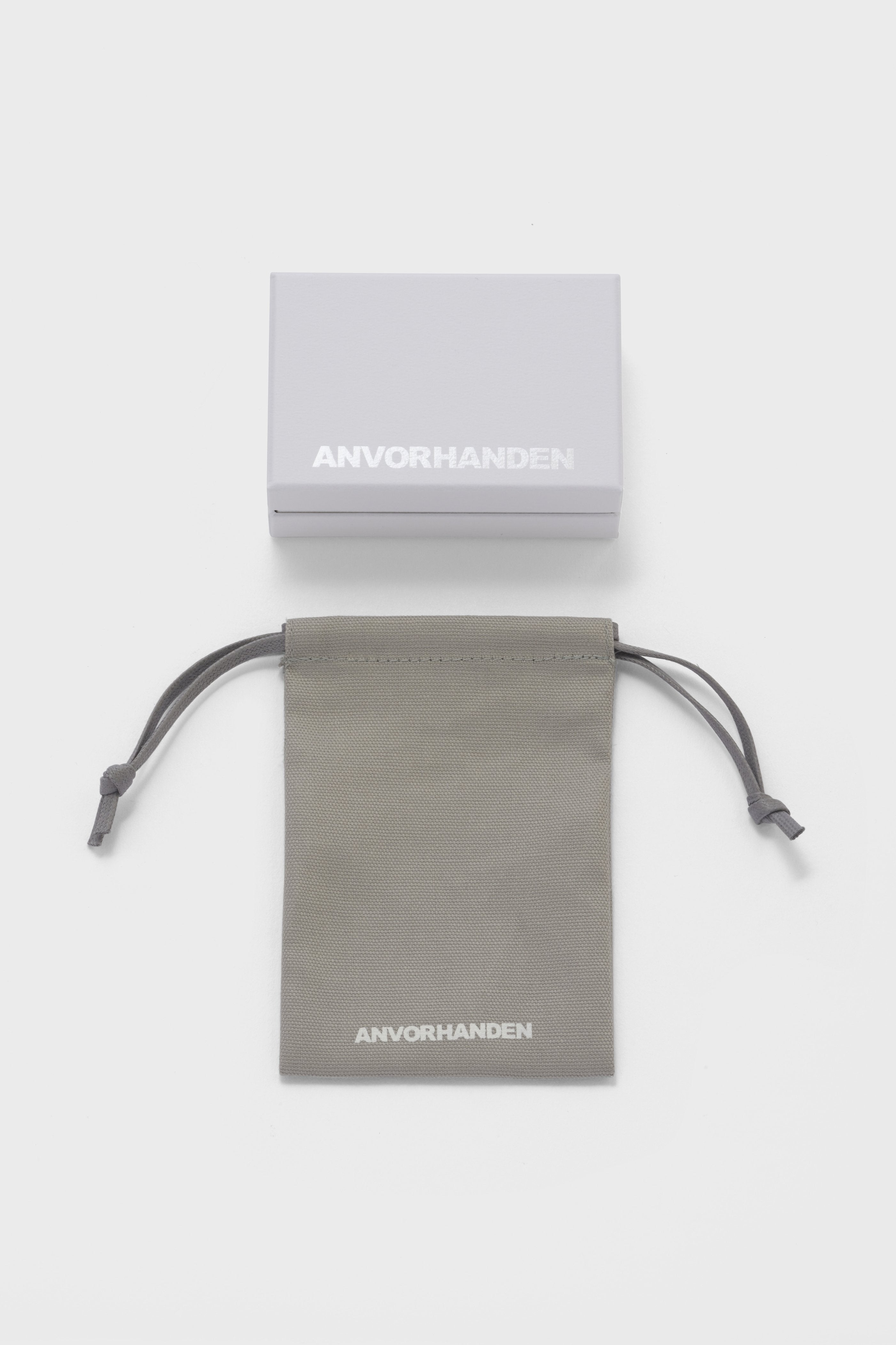 ANVORHANDEN DISTORTION RING (SILVER)