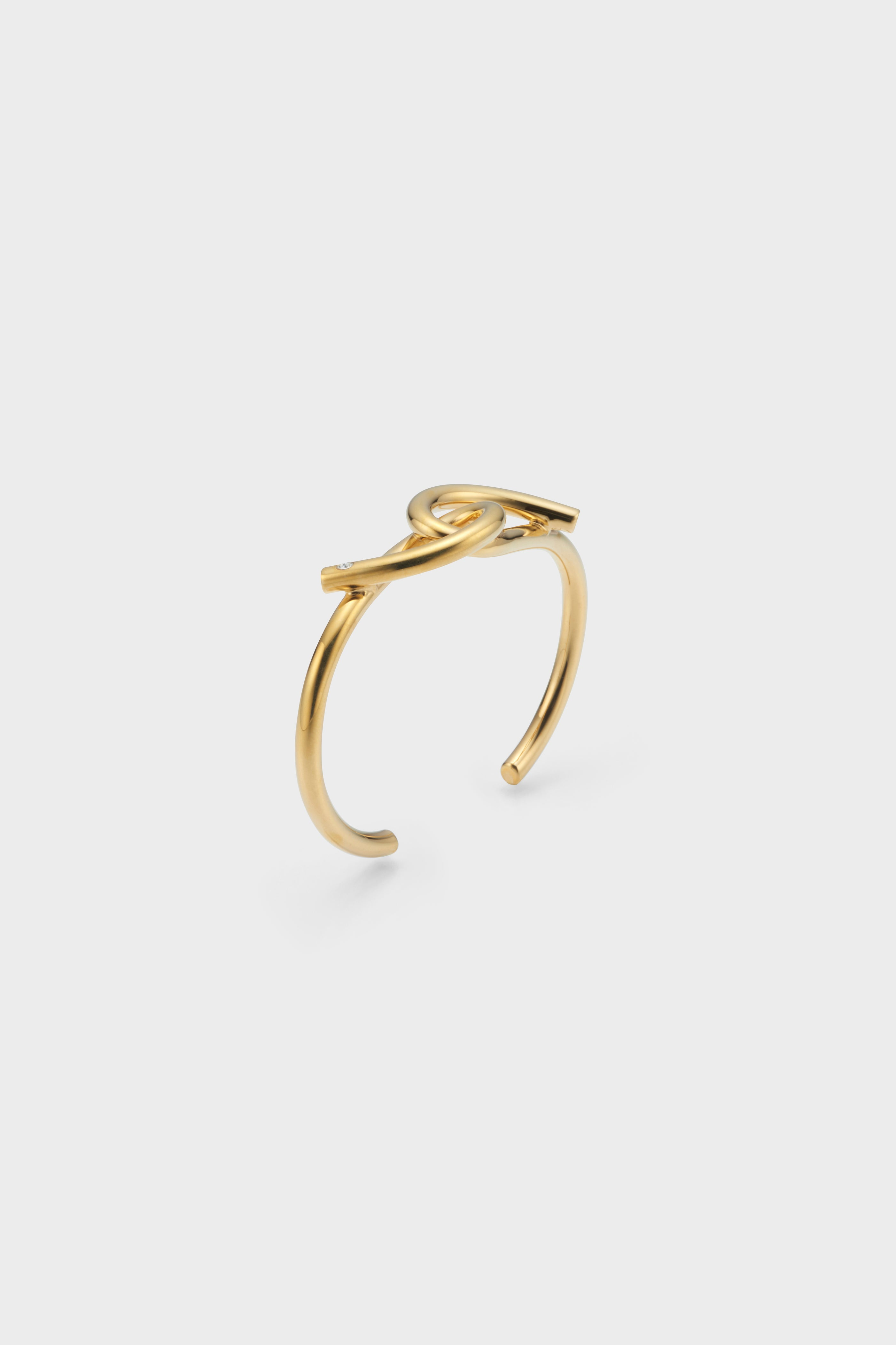 TORSION BANGLE (GOLD)