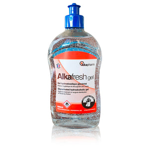 Händedesinfektion, Alkafresh Gel - 500ml
