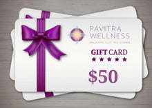 Load image into Gallery viewer, Pavitra Wellness e-shop Gift Card